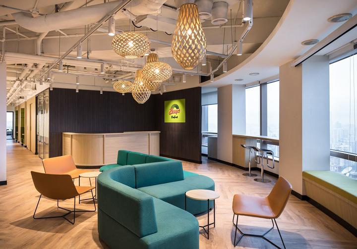 木色倚青翠 Zespri佳沛奇异果上海总部办公设计欣赏