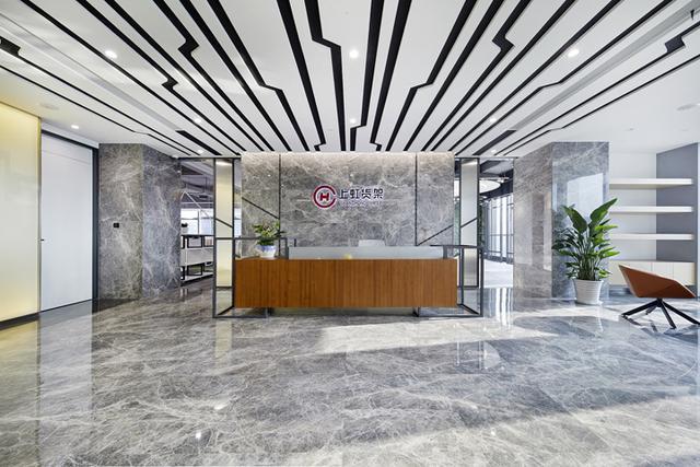 架世界至长虹 上虹货架上海办公设计欣赏