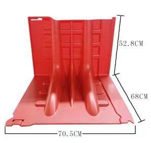L型移動擋水板