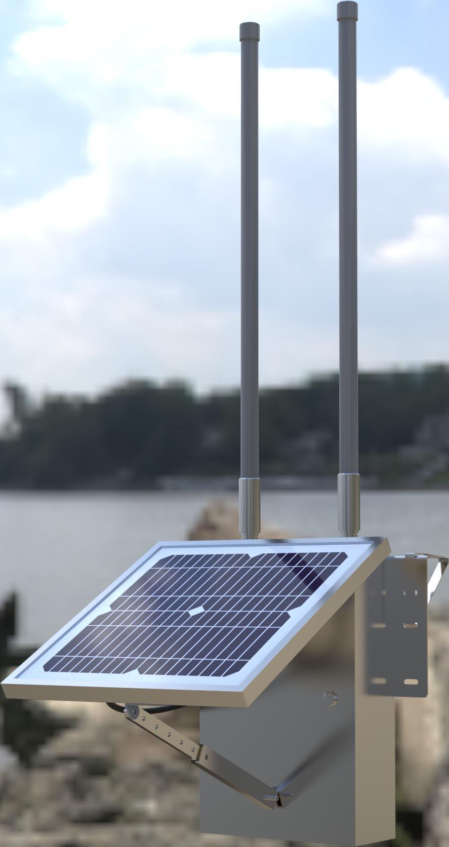 SP3100V2太阳能无线数据站