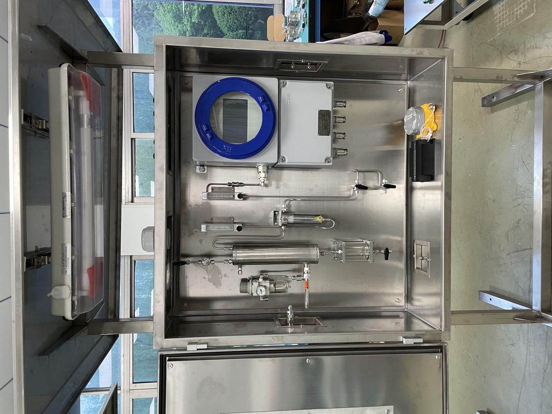 中石油兰州油罐防爆氧分析系统项目
