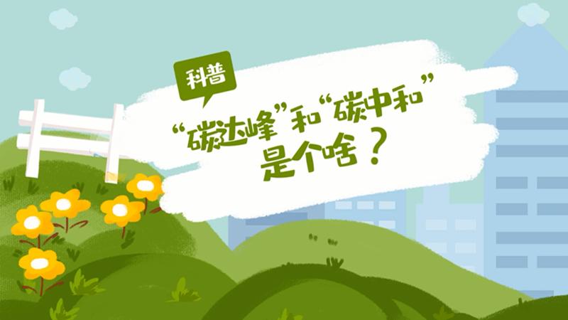 """""""碳達峰""""和""""碳中和""""是什么?..."""