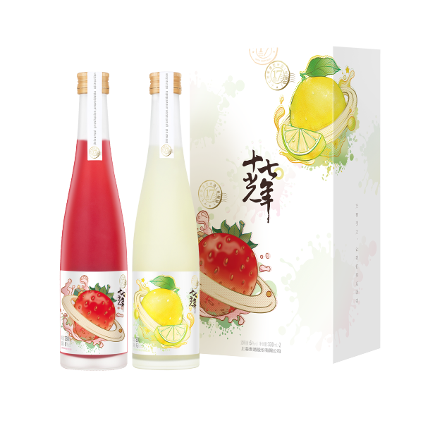 十七光年清型米酒(草莓味+柠檬味)