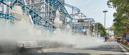公园景区造雾机-人造雾景观-赋予水新的价值