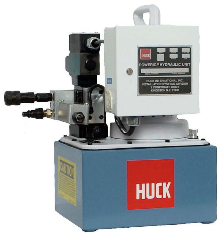 HUCK HK940-220便携液压站
