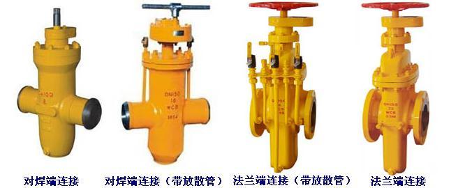 油田专用高压平板闸阀