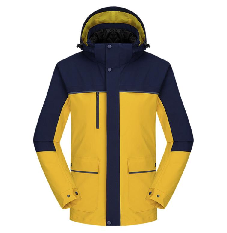 新款羽绒内胆冲锋衣 团体户外登山服外套