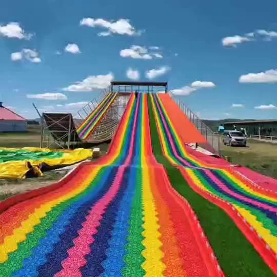 室外無動力彩虹滑道,彩虹滑道