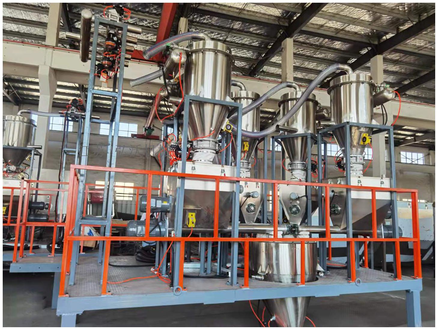 密炼机自动配料的应用及特点