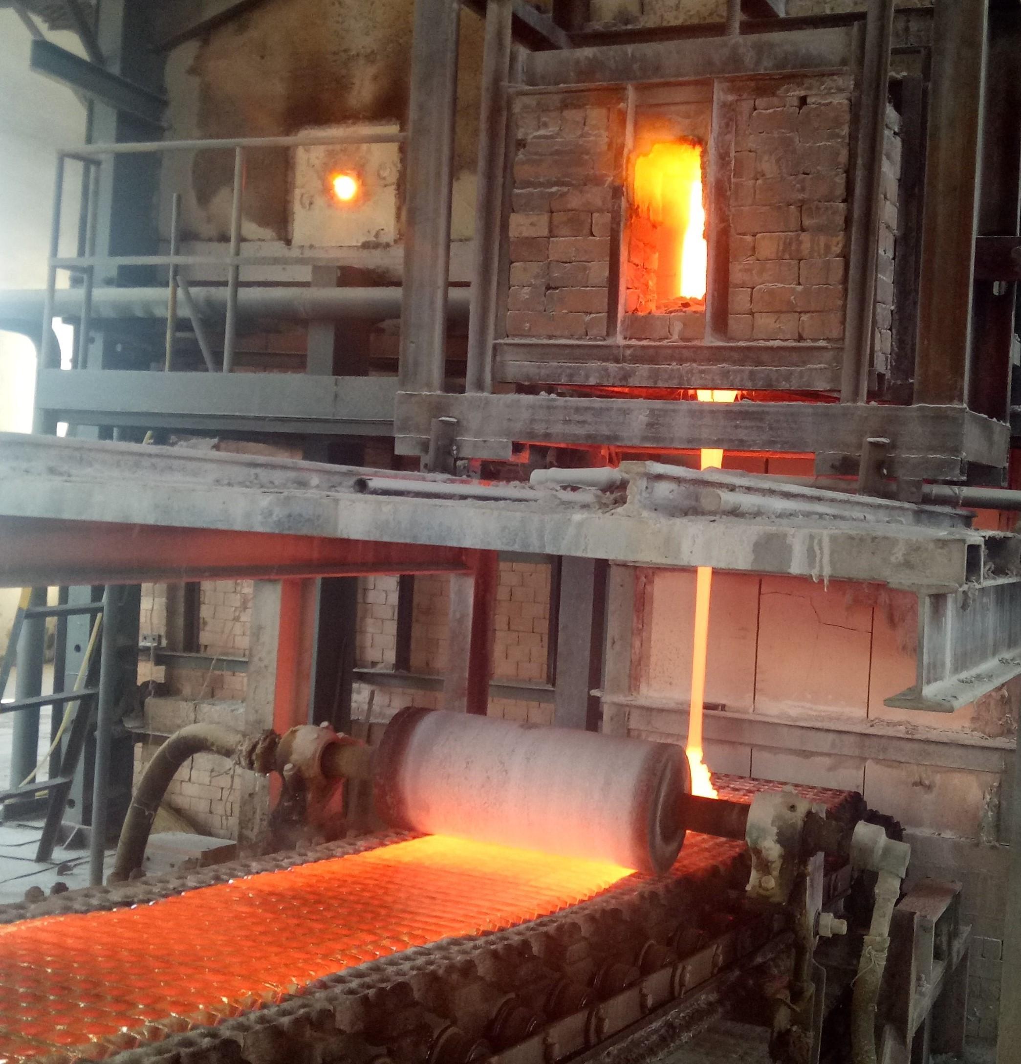 玻璃窑高温烟气换热器