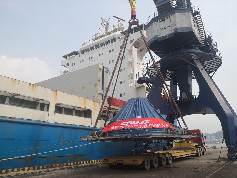 出口海运运输案例———大型水轮机电力设备
