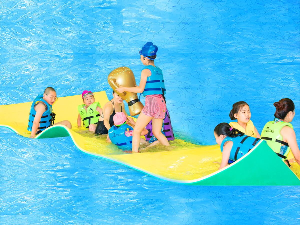 乐趣升级 水上浮垫惊喜来袭