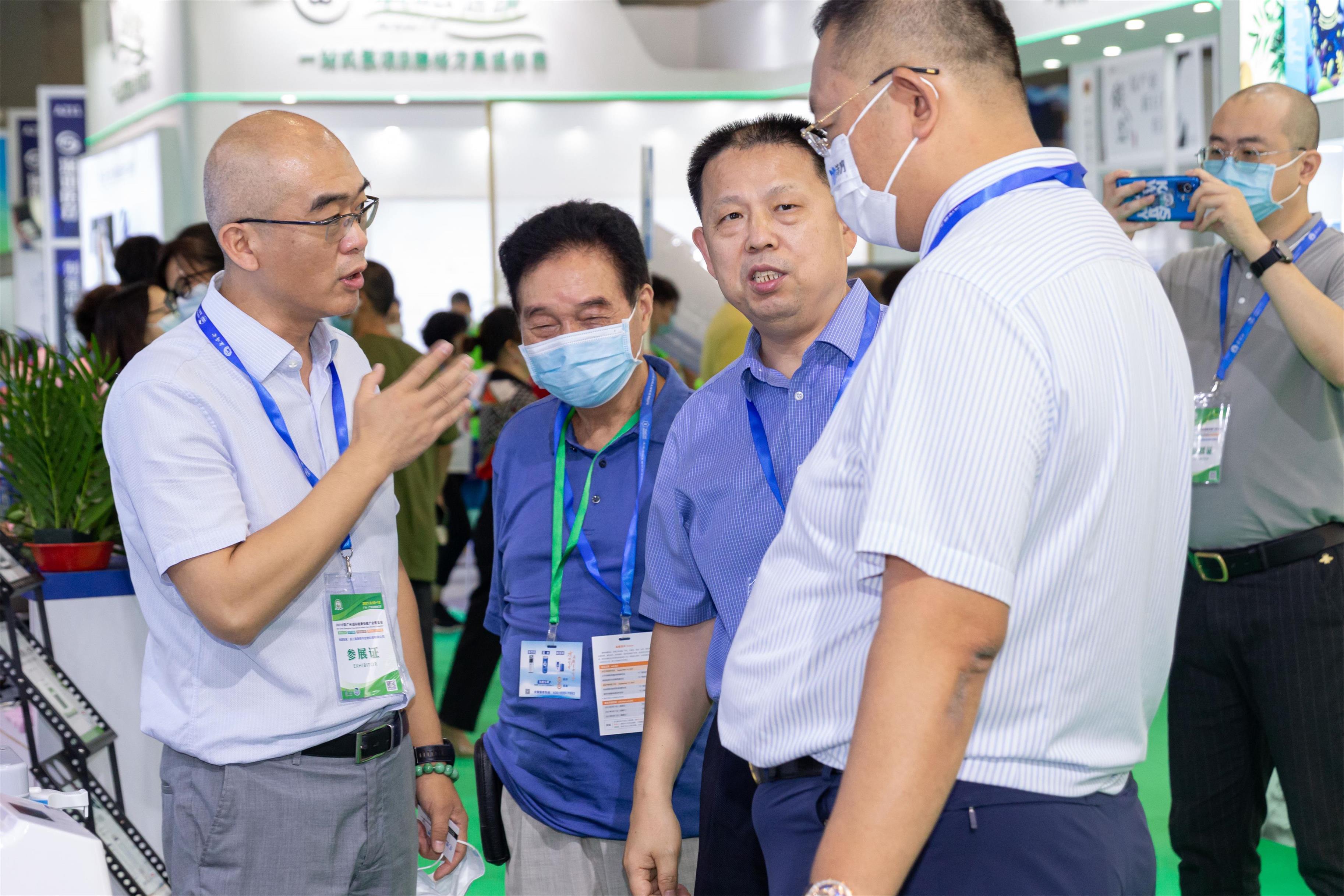 【展会风采】纳诺巴伯小Q家族三兄弟闪亮登场2021广州氢产品展!