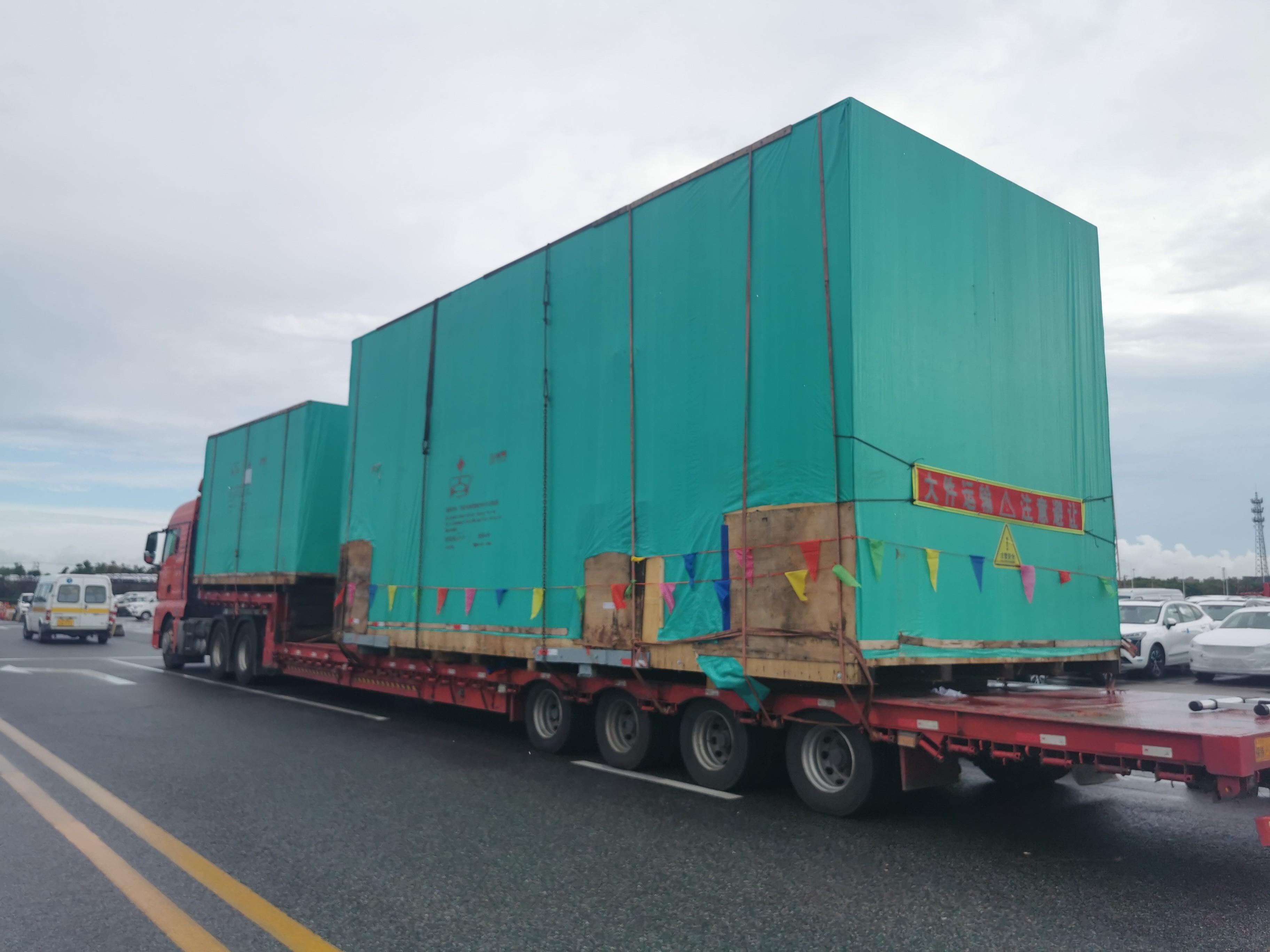 环保设备大件运输