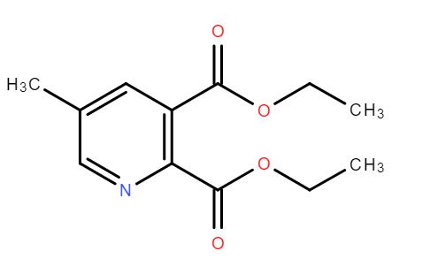 5-甲基吡啶-2,3-二甲酸二乙酯  CAS#:105151-48-2