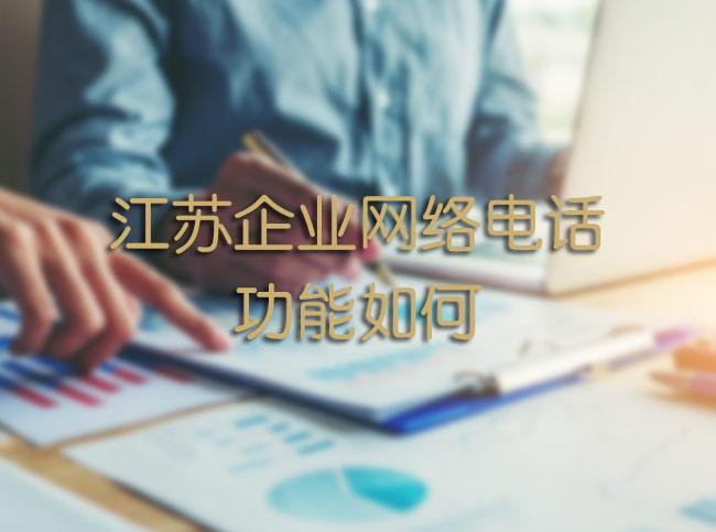 江苏企业网络电话功能如何