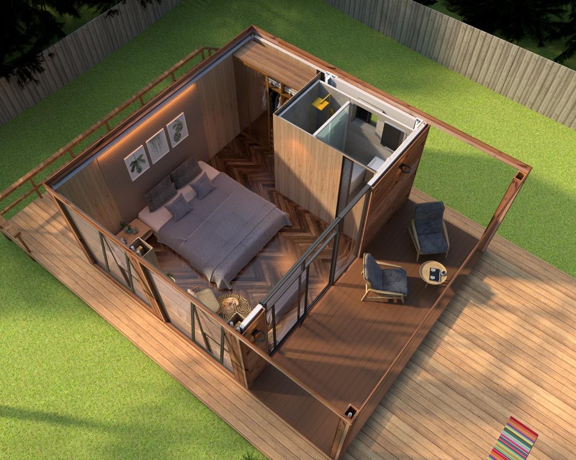 移动木屋的结构设计以及如何保养