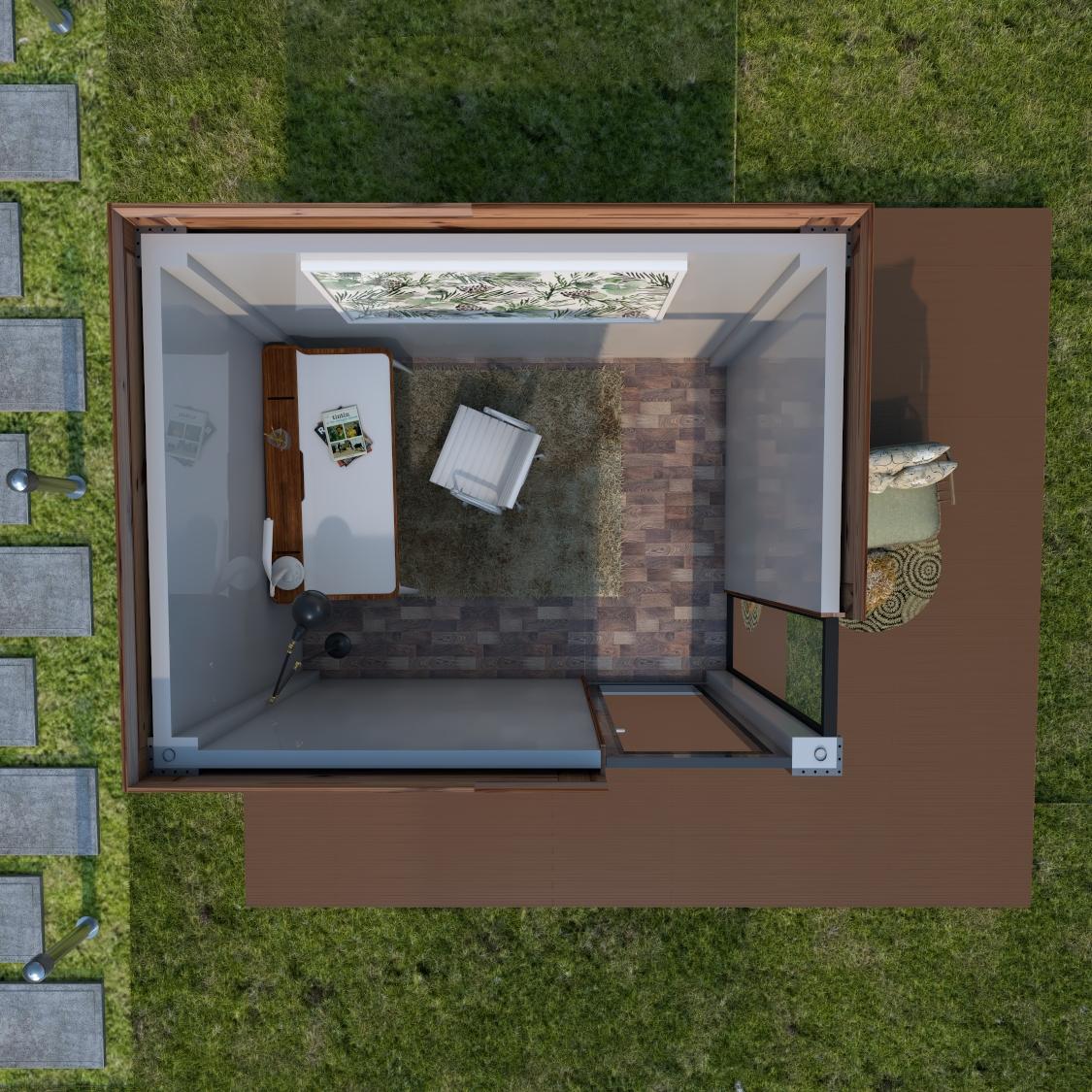 室外挂板及地板