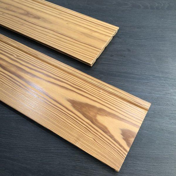 碳化木吊顶及内墙板