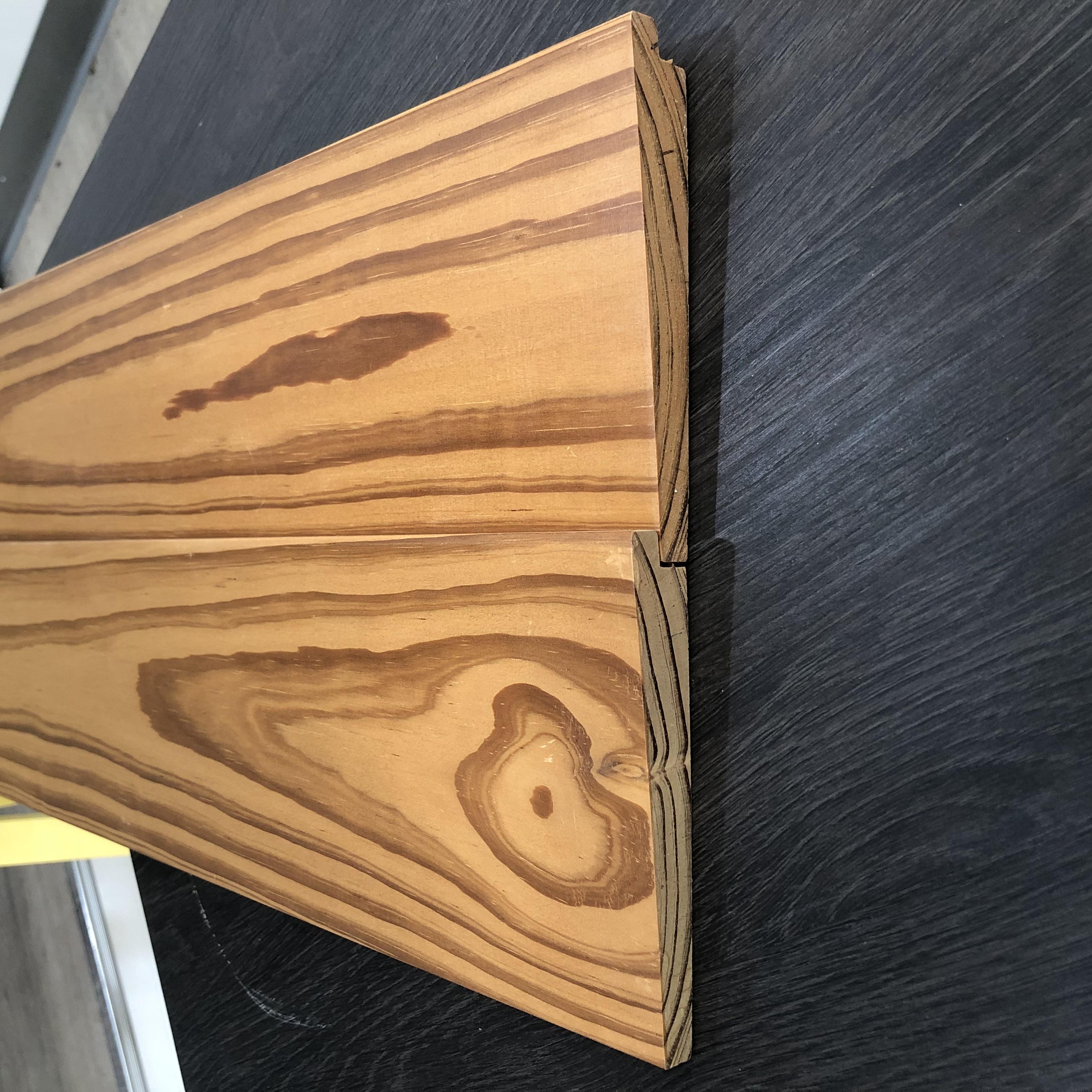 碳化木外墙板