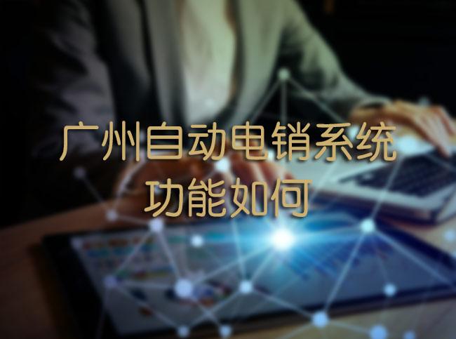 广州自动电销系统功能如何