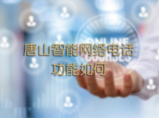 唐山智能网络电话功能如何