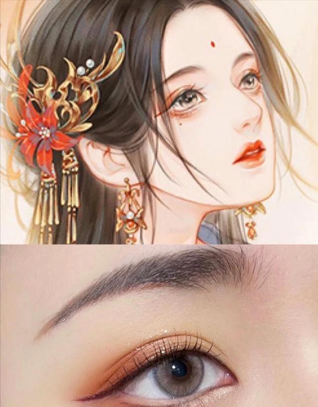 敦煌化妆培训之适合汉服妆容的眼影有哪些?
