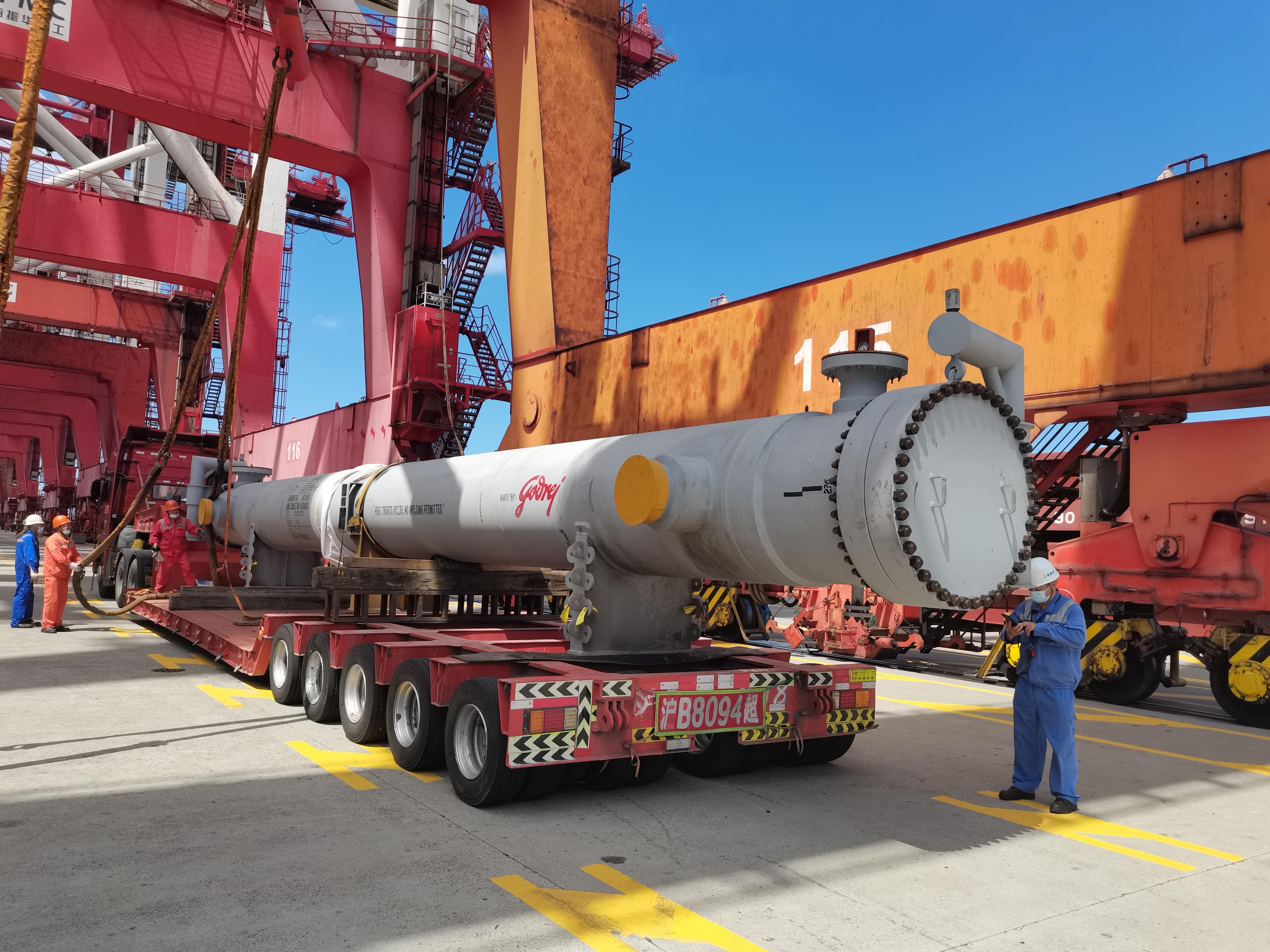 楚基大件物流运输 大件工程设备运输