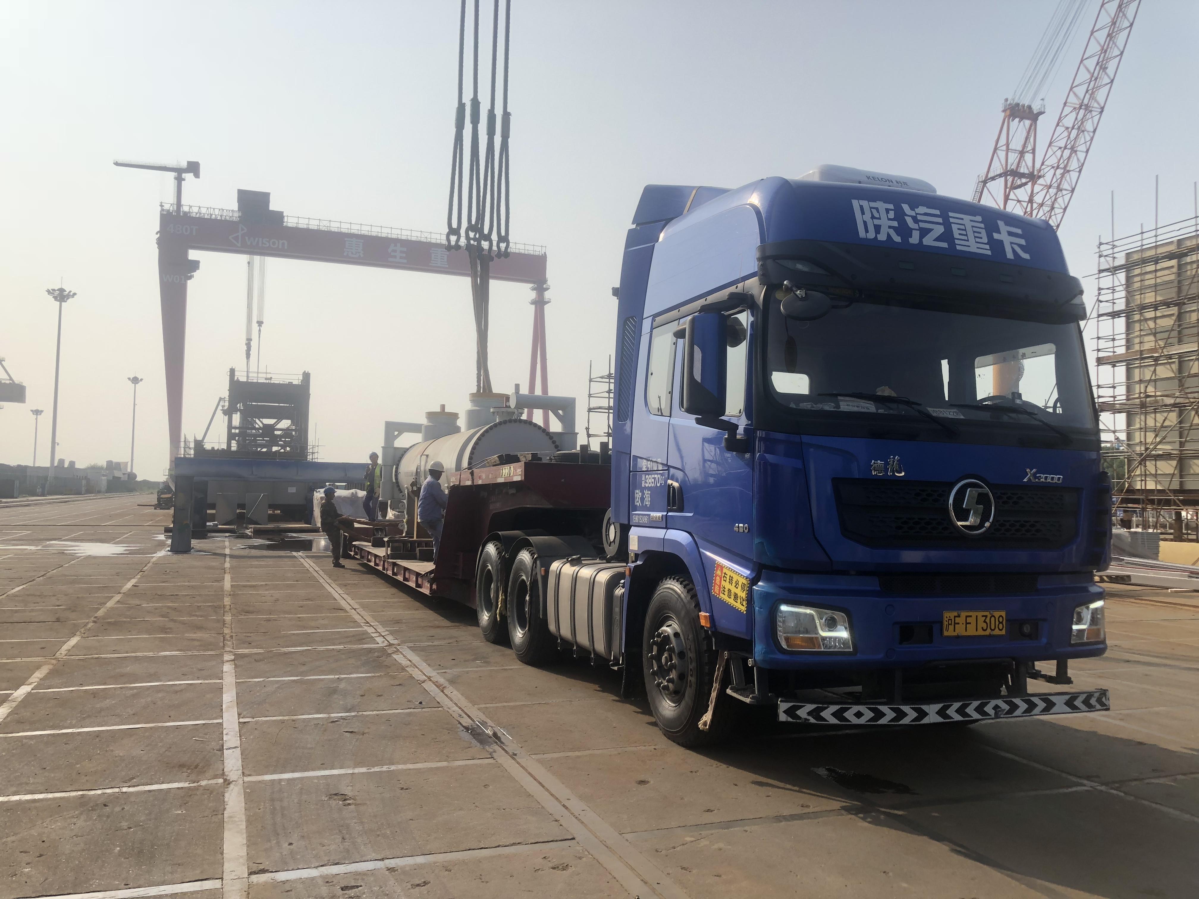 楚基运输 大件工业设备物流运输