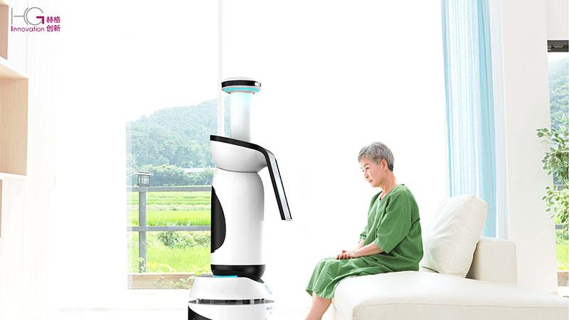 养老机器人外观设计