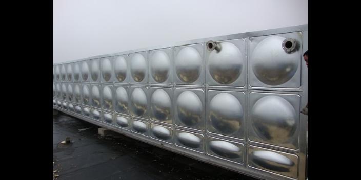河南微型不锈钢水箱生产过程