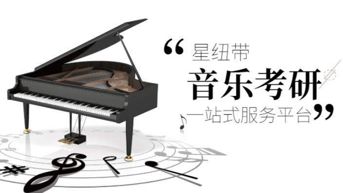 南京音乐考研录播课 北京星纽带教育科技供应