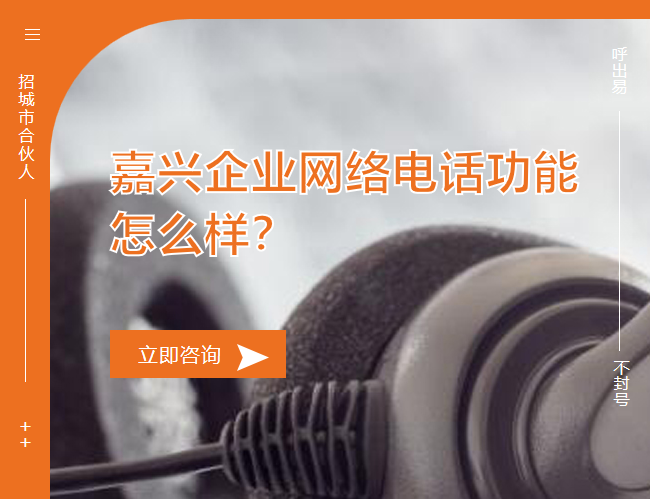 嘉兴企业网络电话功能怎么样?