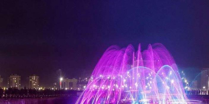扬州特色音乐喷泉施工
