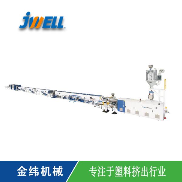 節能高速機-管材擠出生產線:HDPE燃氣管、供水管