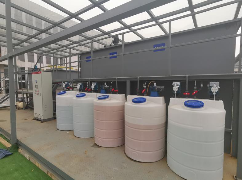 绿禾盛分享一体化污水处理设备的结构