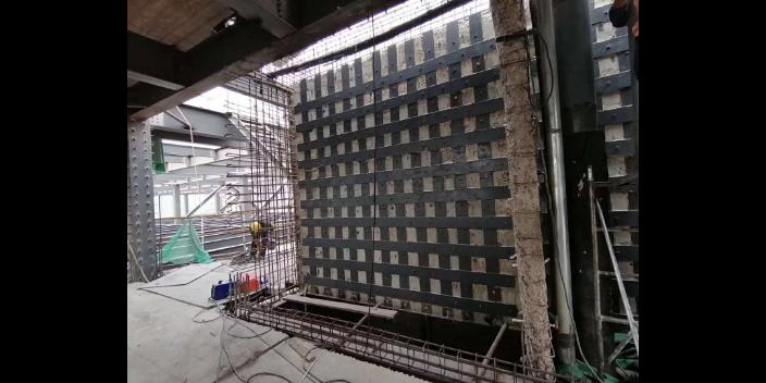 十堰办公楼粘钢加固方式