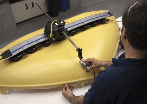 手动双轴扫查器Wing(翼形)扫查器