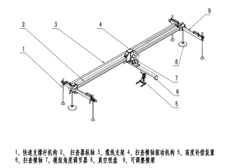 Wing-B1风电叶片自动扫查器